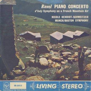 ラヴェル:ピアノ協奏曲,ダンディ:フランス山人の歌による交響曲