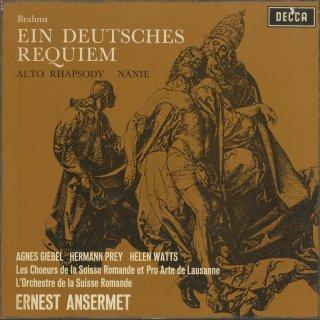 ブラームス:ドイツ・レクイエムOp.45,悲歌Op.82,アルト・ラプソディーOp.53