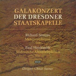 リヒャルト・シュトラウス:メタモルフォーゼ,ヒンデミット:ウェーバーの主題による交響的変容