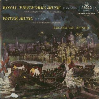 ヘンデル(ハーティ編):水上の音楽,王宮の花火の音楽