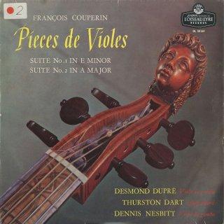 クープラン:「ヴィオールの作品」組曲1,2番(全曲)