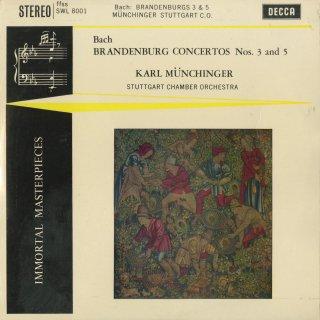 バッハ:ブランデンブルク協奏曲3,5番