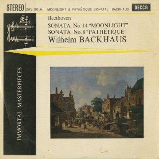 ベートーヴェン:ピアノ・ソナタ8番Op.13「悲愴」,14番Op.27-2「月光」
