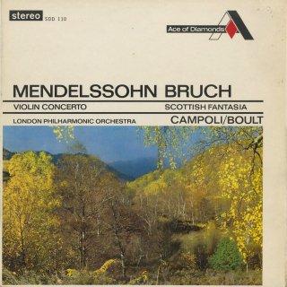 メンデルスゾーン:ヴァイオリン協奏曲Op.64,ブルッフ:スコットランド幻想曲Op.46