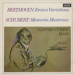 ベートーヴェン:エロイカ変奏曲Op.35,シューベルト:楽興の時Op.94