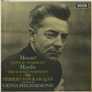 モーツァルト:交響曲41番K.551「ジュピター」,ハイドン:交響曲103番「太鼓連打」