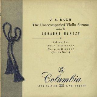 バッハ:無伴奏ヴァイオリン・ソナタ2番BWV.1003,無伴奏パルティータ2番BWV.1004