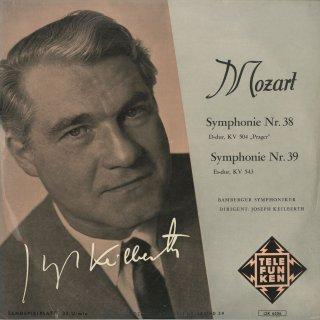 モーツァルト:交響曲38番K.504「プラハ」,39番K.543