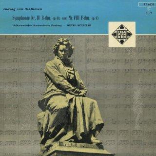 ベートーヴェン:交響曲4番Op.60,8番Op.93