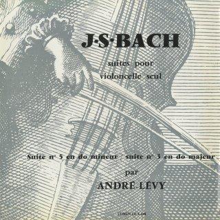 バッハ:無伴奏チェロ組曲3番BWV.1009,5番BWV.1011