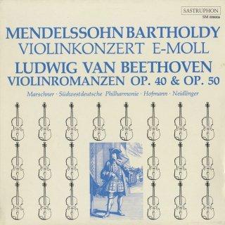 ベートーヴェン:ロマンス1番Op.40,2番Op.50,メンデルスゾーン:ヴァイオリン協奏曲Op.64