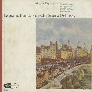 「フランスピアノ曲集」シャブリエ(2曲),セヴラック,アーン,サン・サーンス,ドビュッシー:ピアノのために,アラベスク1,2番,喜びの島