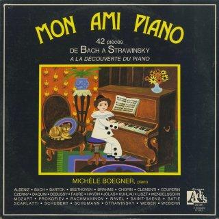 「MON AMI PIANO」ピアノ小品集(全32曲)/スカルラッティ,クープラン,バッハ,ハイドン,チェルニー,ベートーヴェン,シューベルト,メンデルスゾーン,ショパン,リスト,他