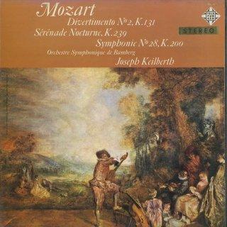 モーツァルト:ディヴェルティメント2番K.131,セレナーデ6番K.239「セレナータ・ノットゥルナ」,交響曲28番K.200
