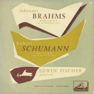 ブラームス:ピアノ・ソナタ3番Op.5,シューマン:幻想曲Op.17