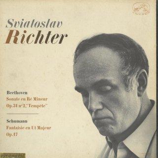 ベートーヴェン:ピアノ・ソナタ17番Op.31−2「テンペスト」,シューマン:幻想曲Op.17
