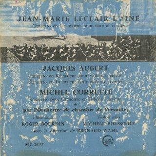 「フランス・バロック音楽集」ルクレール:Fl協奏曲,J.オーベール:ヴァイオリン協奏曲(2曲),コレット