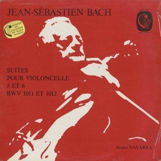 バッハ:無伴奏チェロ組曲5番BWV.1011,6番BWV.1012