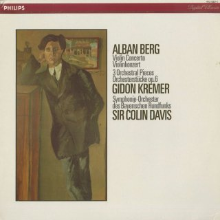 ベルク:ヴァイオリン協奏曲,管弦楽のための3つの小品Op.6