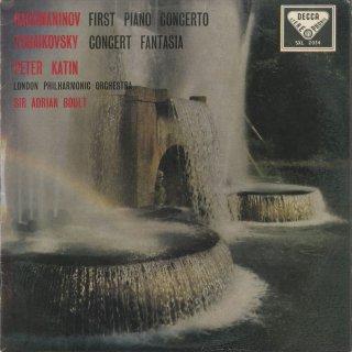 ラフマニノフ:ピアノ協奏曲1番Op.1,チャイコフスキー:協奏的幻想曲Op.56