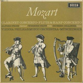 モーツァルト:クラリネット協奏曲K.622,フルート・ハープ協奏曲K.299