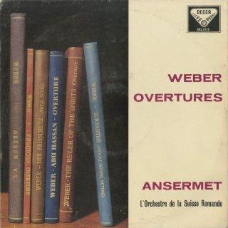 ウェーバー:序曲集/魔弾の射手,プレチオーザ,オーベロン,オイリアンテ,アブ・ハッサン,精霊の支配者