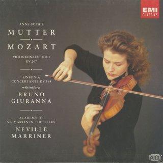 モーツァルト:ヴァイオリン協奏曲1番K.207,協奏交響曲K.364