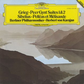 グリーグ:ペール・ギュント第1,2組曲,シベリウス:組曲「ペレアスとメリザンド」