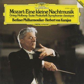 モーツァルト:アイネ・クライネK.525,プロコフィエフ:古典的交響曲Op.25,グリーグ:組曲「ホルベアの時代より」Op.40