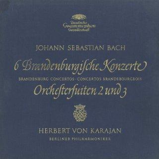 バッハ:ブランデンブルク協奏曲(全6曲),管弦楽組曲2,3番