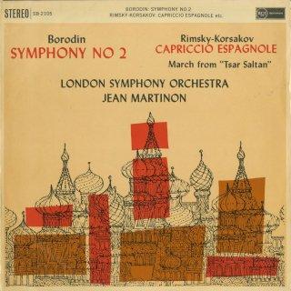 ボロディン:交響曲2番,リムスキー・コルサコフ:スペイン奇想曲Op.34,サルタン皇帝の物語〜行進曲