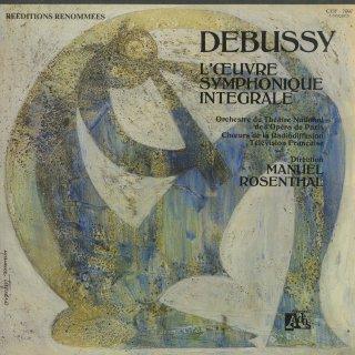 ドビュッシー:管弦楽・合唱曲集/春のあいさつ,祈り,スコットランド行進曲,牧神,夜想曲,海,映像,遊戯,他