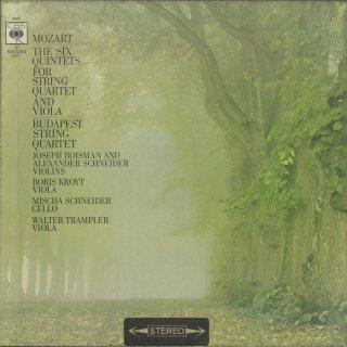 モーツァルト:6つの弦楽五重奏曲