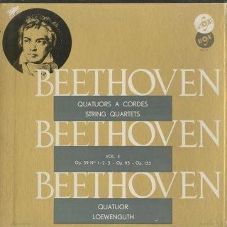 「ベートーヴェン:弦楽四重奏曲集Vol.2」7〜9番Op.59,11番Op.95,大フーガOp.133