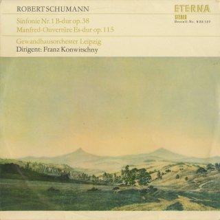 シューマン:交響曲1番Op.38,マンフレッド序曲Op.115