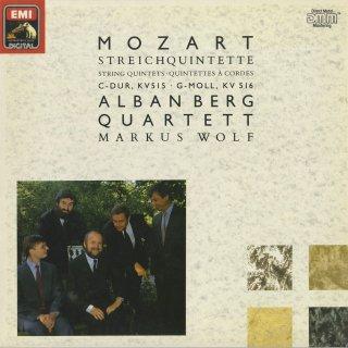 モーツァルト:弦楽五重奏曲3番K.515,4番K.516