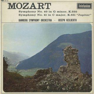 モーツァルト:交響曲40番K.550,41番K.551「ジュピター」