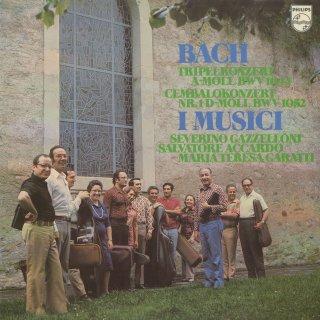 バッハ:チェンバロ協奏曲1番,合奏協奏曲BWV.1044