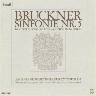 ブルックナー:交響曲5番,オルガン曲集/ブルーンス:前奏曲とフーガ,ダカン:グラン・ジュとデュオのノエル,バッハ:前奏曲とフーガBWV.541