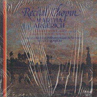 ショパン:ピアノ協奏曲1番Op.11,マズルカOp.59,スケルツォ3番