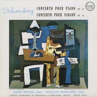 シェーンベルク:ヴァイオリン協奏曲Op.36,ピアノ協奏曲Op.42
