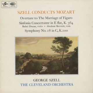 モーツァルト:フィガロ〜序曲,協奏交響曲K.364,交響曲28番K.200