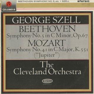 ベートーヴェン:交響曲5番Op.67「運命」,モーツァルト:交響曲41番K.551