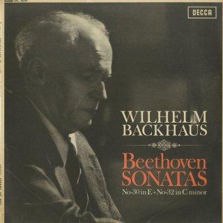 ベートーヴェン:ピアノ・ソナタ30番Op.109,32番Op.111