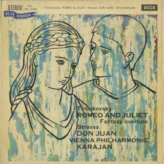 チャイコフスキー:幻想的序曲「ロメオとジュリエット」,リヒャルト・シュトラウス:ドン・ファンOp.20