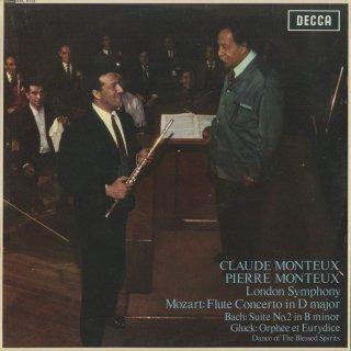モーツァルト:フルート協奏曲K.314,バッハ:管弦楽組曲2番BWV.1067,グルック:精霊の踊り