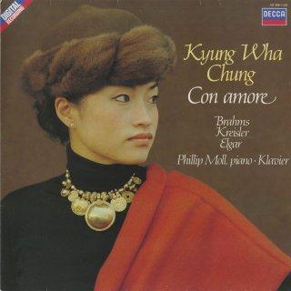 「Con amore」(全17曲)クライスラー,ヴィエニャフスキ,エルガー,チャイコフスキー,ドビュッシー,ブラームス,他