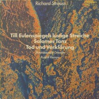 リヒャルト・シュトラウス:ティル・オイレンシュピーゲル,サロメの舞「7つのヴェールの踊り」,死と変容