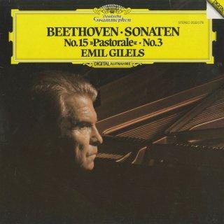ベートーヴェン:ピアノ・ソナタ3番Op.2-3,15番Op.28「田園」