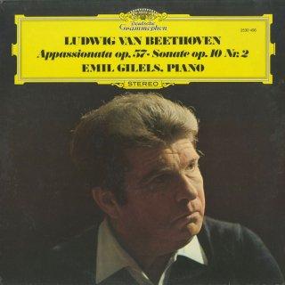 ベートーヴェン:ピアノ・ソナタ6番Op.10-2,23番「熱情」Op.57